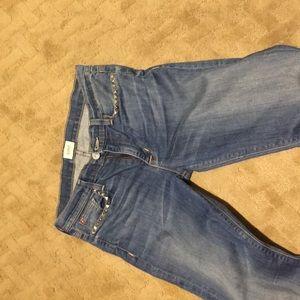 Hudson skinny leg jeans